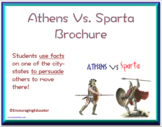 Athens Vs. Sparta Brochure