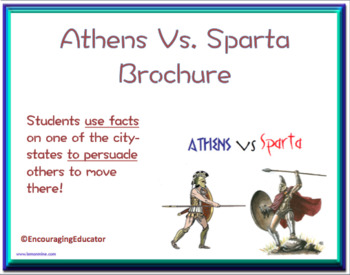 Athens Vs. Sparta Brochure