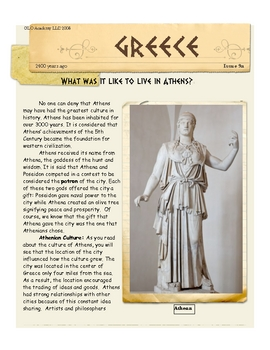 Athens: What was it like to live there? Greece by Don Nelson