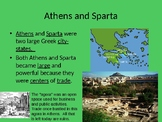 Athens and Sparta PPT