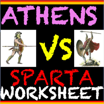 Athens and Sparta Compare and Contrast Children's Lives (CCLS)