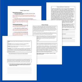 Athens and the Peloponnesian War - Lesson Plan, PowerPoint, and Worksheets