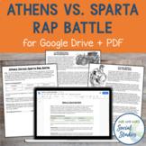 Athens vs Sparta Rap Battle