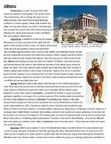 Athens vs Sparta - Recruitment Brochure Project