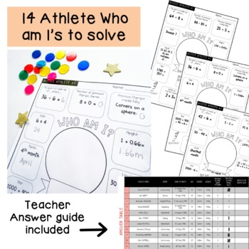 Athlete Arithmetic Maths Pack - Summer Games