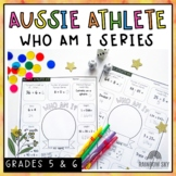 Commonwealth Games Maths Activity - Athlete Who am I Australia - Years 3-6