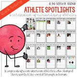 Athlete Spotlights, A Celebration of Black History Month
