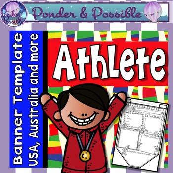 Rio Games Athlete Sport Bunting
