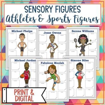 Athletes and Sports Sensory Figures