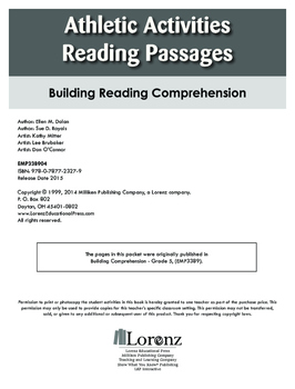 Athletic Activities Reading Passages