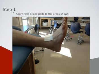 Athletic Taping Techniques - Ankle Taping