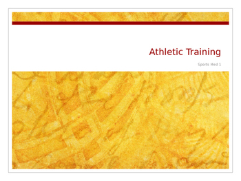 Athletic Training and Ethical Behavior