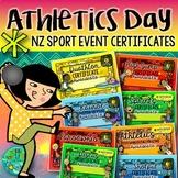 Athletics Day {NZ Sport Event Certificates}