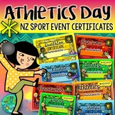 Athletics Day {NZ Sport Event Certificates}