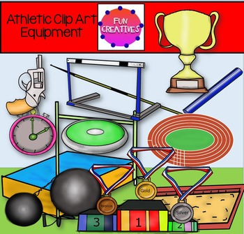 Commonwealth Games and Athletic Clip Art