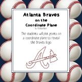Atlanta Braves Logo on the Coordinate Plane