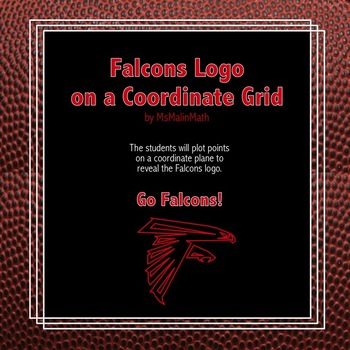 Atlanta Falcons Logo on the Coordinate Plane