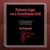 Atlanta Falcons Logo on the Coordinate Plane