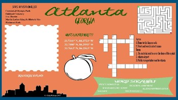 Atlanta, Georgia Activity Page