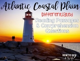 Atlantic Coastal Plain {Differentiated Close Reading Passages & Questions}