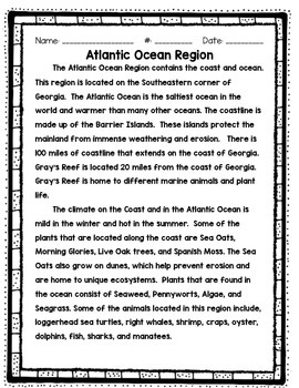 Atlantic Ocean Close Passage