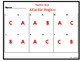 Atlantic Region Task Cards