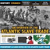 Atlantic Slave Trade - PowerPoint with Cloze Notes (41 Sli