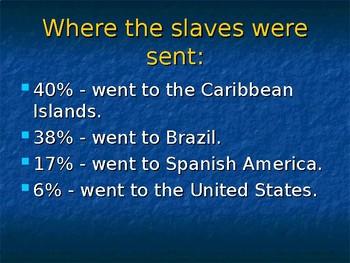 Atlantic Slave Trade Powerpoint Part III