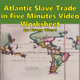 Atlantic Slave Trade in Five Minutes Video Worksheet