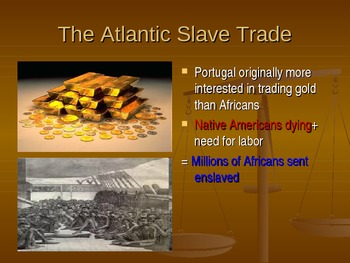 Atlantic Slave trade presentation