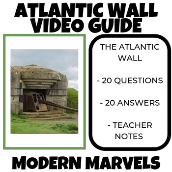 Atlantic Wall Modern Marvels Video Guide
