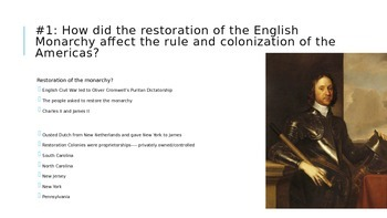 Atlantic World PowerPoint or ch 3 from America's History by BFW for APUSH