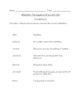 Atlantis: The Legend Reading and Spelling Bundle (Scott Foresman Reading Street)