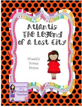 Atlantis: The Legend of a Lost City Letters (Scott Foresman Reading Street)
