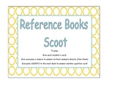 Atlas, Dictionary, Encyclopedia, Thesaurus Scoot Game (Task Cards)