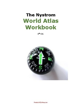 Nystrom World Atlas Workbook 5th Ed Special Ed Modified By Ela Hwy