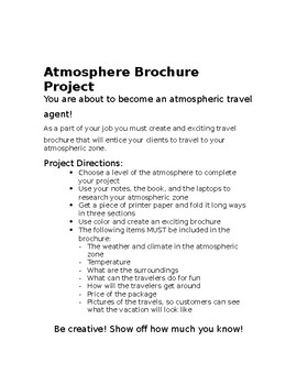 Atmosphere Brochure Project