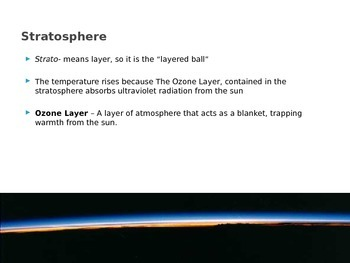 Atmosphere - Characteristics of the Atmosphere