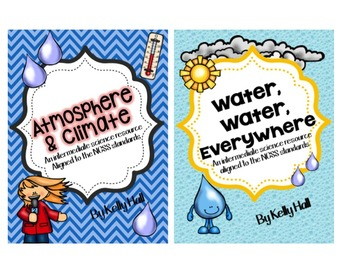 Atmosphere & Climate and Water Water Everywhere Bundle