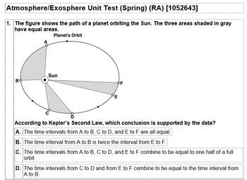 Atmosphere/Exosphere Unit Test