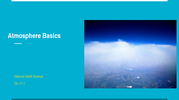 Atmosphere Layers Basics PowerPoint