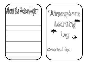 Atmosphere Learning Log