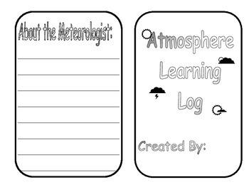 Atmosphere Learning Log