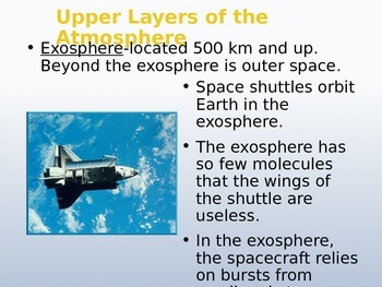 Atmosphere Notes in Powerpoint