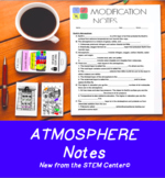 Atmosphere Notes: for Modifications & Accommodations