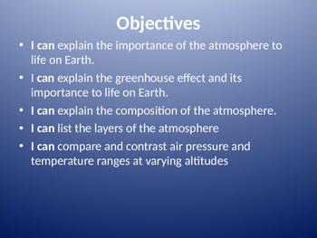 Atmosphere Powerpoint
