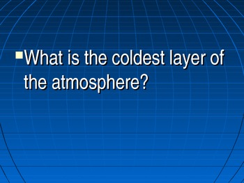 Atmosphere Powerpoint Review Game
