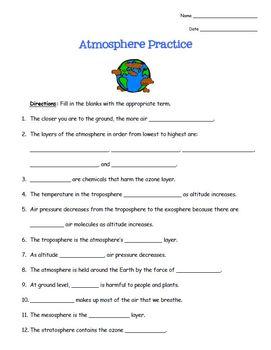 Atmosphere Practice