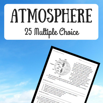 Atmosphere Practice Questions