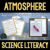 Atmosphere - Science Literacy Article